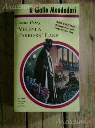 Anne Perry - Veleni a Farriers'Lane
