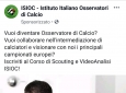 Scouting calcistico e video analisi