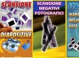 Scansione Diapositive, Negativi e Super 8