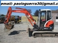 mini escavatore kubota u45